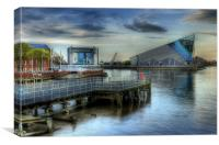 THE DEEP HULL 2012, Canvas Print