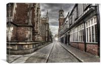 North Church Side Hull 2012, Canvas Print