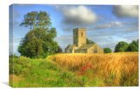 St Andrews Church 2012, Canvas Print