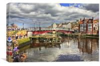Whitby 2012, Canvas Print