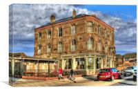 Halfway Hotel, Hull 2012, Canvas Print