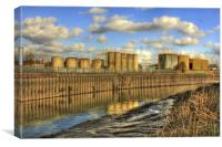 industriHull 2013, Canvas Print