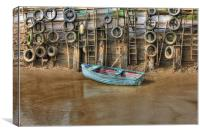 Tyred Boat 2013, Canvas Print