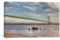Humber Recovery 2014, Canvas Print