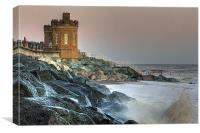 Withernsea Storm, Canvas Print