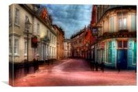Trinity House Lane Hull, Canvas Print