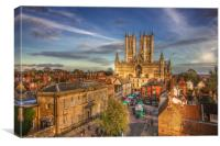 Lincoln Cathedral, Canvas Print