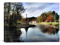 Altisidora inn, bishop burton, yorkshire,, Canvas Print