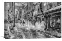 York Street Clean, Canvas Print