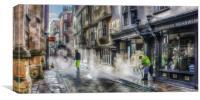 City of York Street Clean, Canvas Print