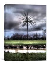 champagne super turbine, Canvas Print