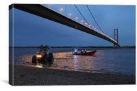 HUMBER RESCUE, Canvas Print
