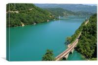 Bosnian River, Canvas Print