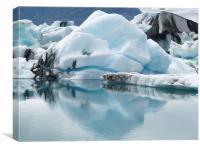 glacial ice lake