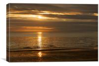 Sunset in the North, Canvas Print