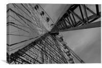 Ferris Wheel, Canvas Print