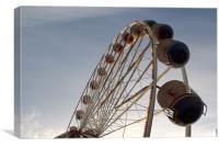 Fairground Ride, Canvas Print