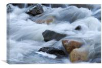 White water , Canvas Print