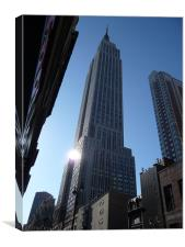 Empire State Building - Early Morning, Canvas Print