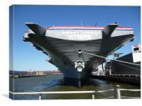 USS Intrepid, Canvas Print