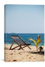 Seat in Paradise, Canvas Print
