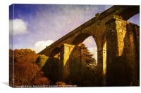 Viaducts, Canvas Print