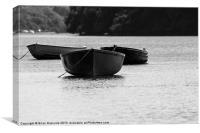 Three Little Boats, Canvas Print