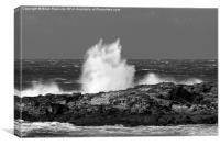 North Coast Storms, Canvas Print