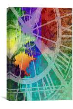 Time for a Spash of Colour, Canvas Print