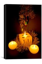 Christmas Decorations, Canvas Print