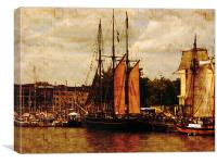 Bristol Harbour Festival, Canvas Print