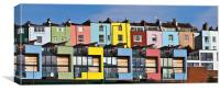 Little Boxes, Canvas Print