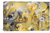 The Workings of a Watch, Canvas Print