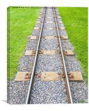 Train Line to Nowhere!, Canvas Print
