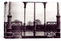The Victorian Band Stand, Canvas Print