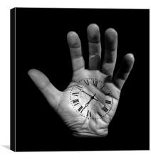 Hands of time, Canvas Print