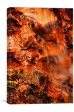iron stream, Canvas Print