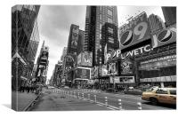 Times Square, Canvas Print