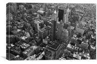 City view, Canvas Print