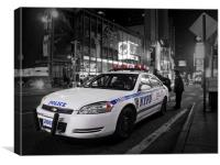 NYPD, Canvas Print