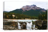 Maligne Canyon, Alberta, Canada, Canvas Print