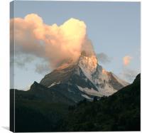 Matterhorn, Canvas Print