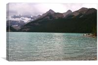 View from Lake Louise, Banff National Park