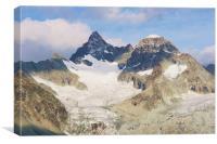 View from Zermatt, Canvas Print