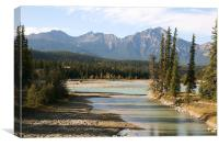 view from Jasper National Park.