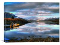 Quiet Morning On Loch Leven, Canvas Print