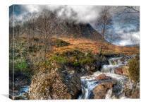 The Buachaille Etive Mor Scotland, Canvas Print