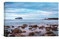 Bass Rock And The Beacon, Canvas Print