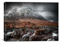 The Mood Of Winter, Scotland, Canvas Print