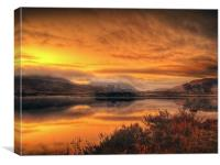 Loch Ba Sunrise, Scotland, Canvas Print